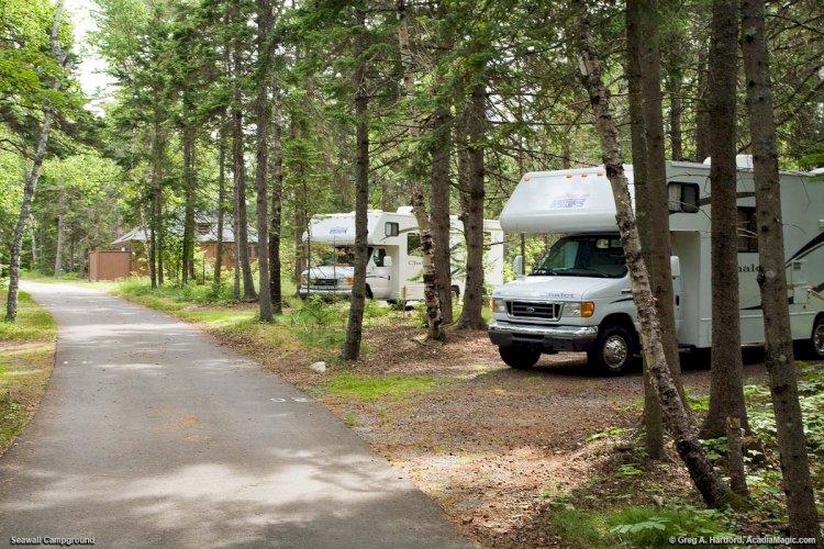 Camping around the USA