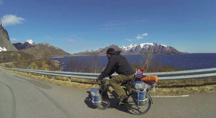 5700 km of cycling, from Vancouver to St. John