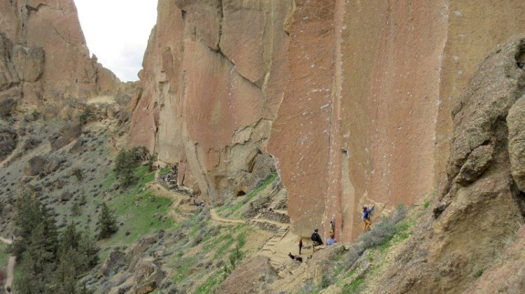 Smith Rock, a semi-desert paradise in central Oregon, must-see.