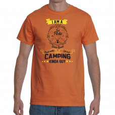 I am a tent pitchin T-Shirt